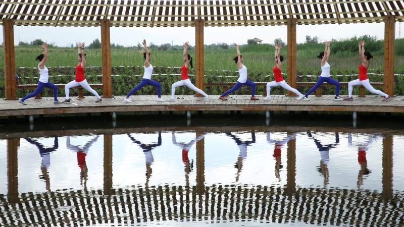 Peringatan Hari Yoga Sedunia