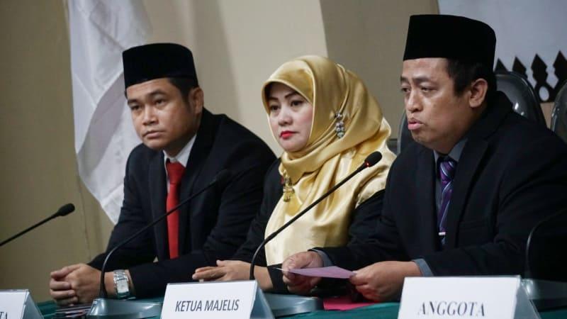 Sidang Putusan Penangan Pelanggaran Administratif Pemilu, Bawaslu DKI Jakarta, Ketua Majelis Puadi