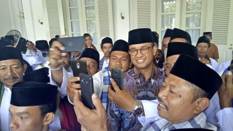 Anies Baswedan melepas 147 marbot masjid