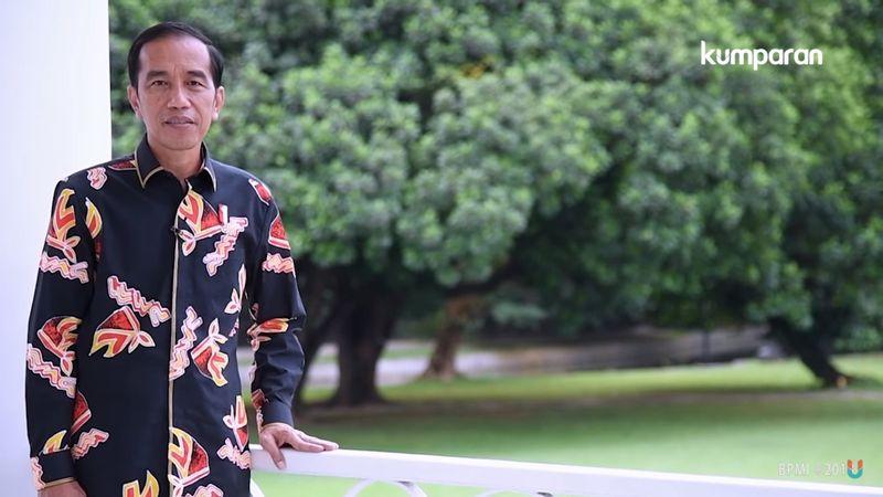 Jokowi ucapkan selamat ulang tahun ke kumparan
