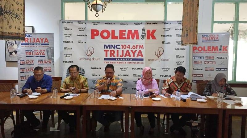 Diskusi Polemik, Kampanye asyik, damai, anti hoax, warung daun