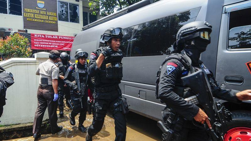 Penangkapan Terduga Teroris Bom Bandung
