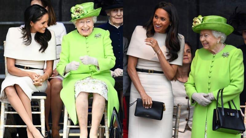 Meghan Markle & Ratu Elizabeth II