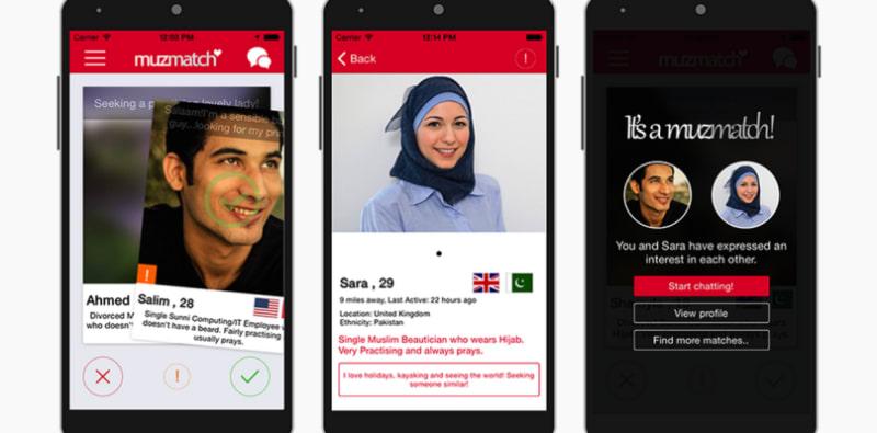 Aplikasi Kencan untuk Muslim