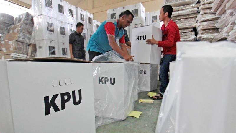 Kotak surat suara Pilkada