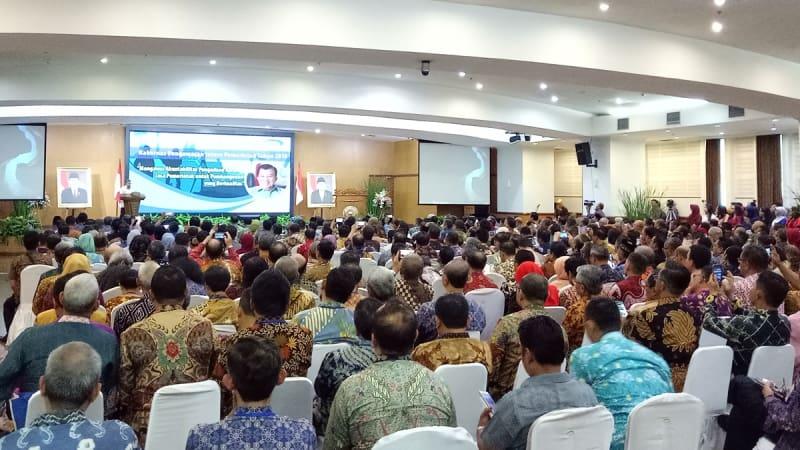 Hasil gambar untuk Rakornas Pengawasan Intern Pemerintah Tahun 2018 di gedung BPKP, Jakarta