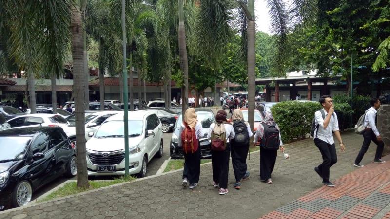 TKP pembulian kampus Gunadarma