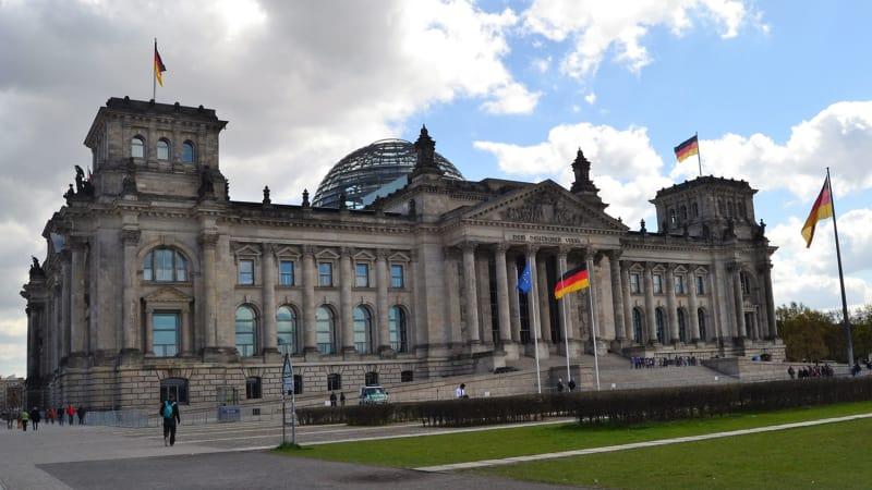 Gedung Reichstag di Berlin, Jerman