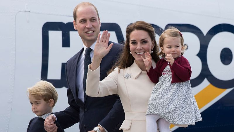 Kate Middleton bersama Anak