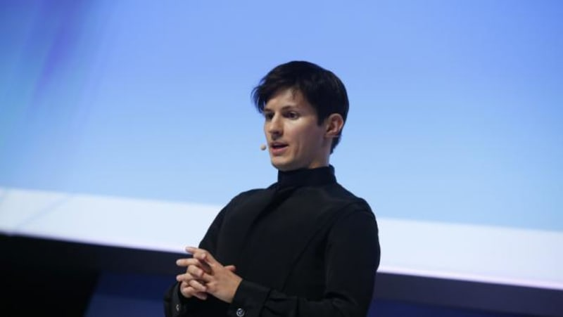 Founder and CEO of Telegram Pavel Durov