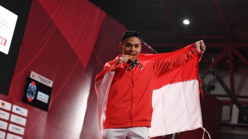 Lifter Indonesia Eko Yuli peraih emas