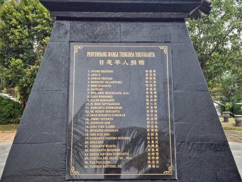 Monumen Garuda Pancasila di Museum Tionghoa TMII