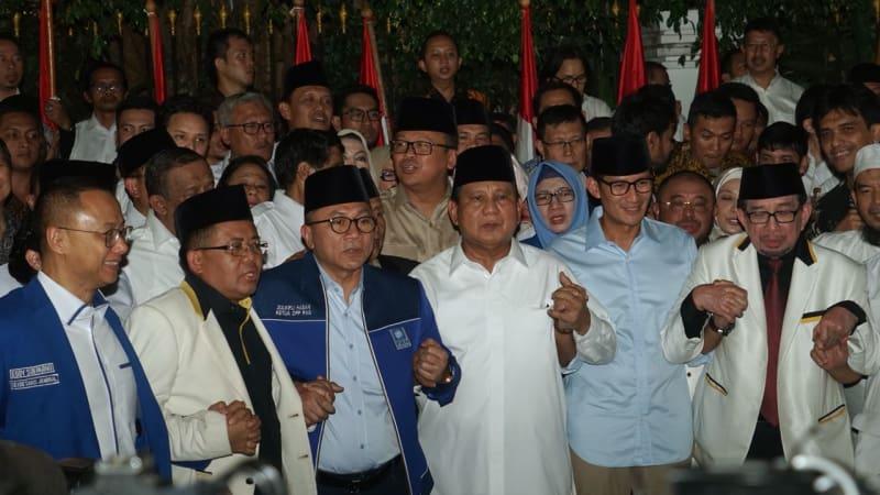 Deklarasi Prabowo-Sandiaga sebagai capres cawapres 2019