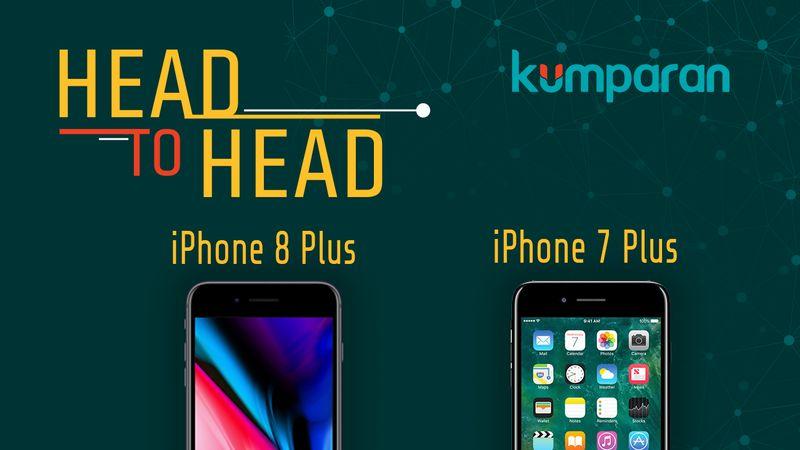 Infografis: iPhone 8 Plus vs iPhone 7 Plus