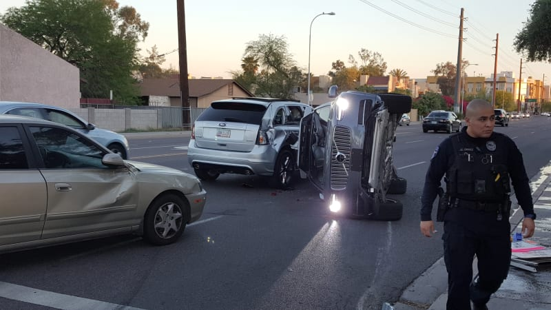 Sensor Laser Mobil Swakemudi Uber yang Tabrak Seorang Pedestrian Hingga Tewas, Diduga Dikurangi