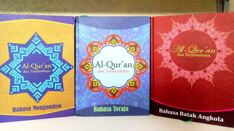Al-Qur'an Diterjemahkan ke dalam Tiga Bahasa