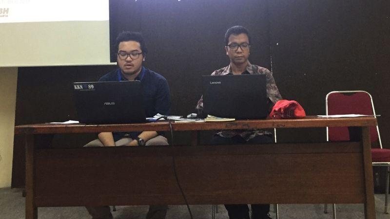 Diskusi LBH, Penggusuran, Pemprov DKI