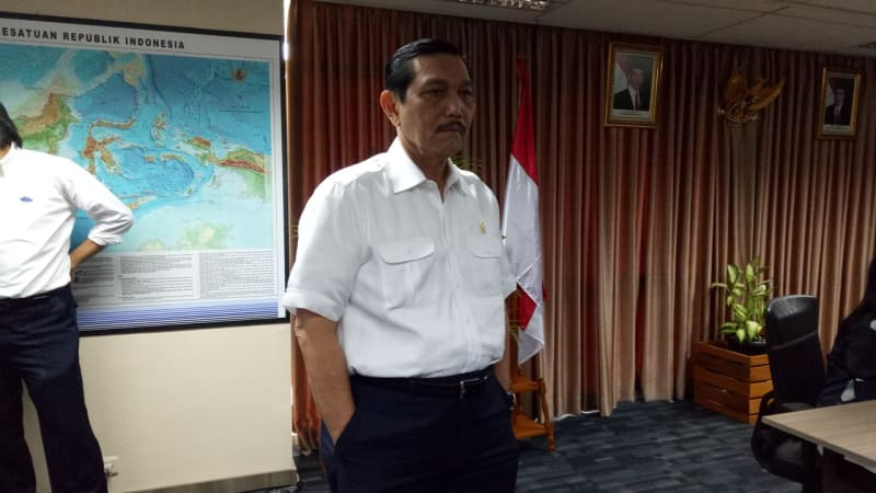 Luhut Binsar Pandjaitan dalam morning briefing