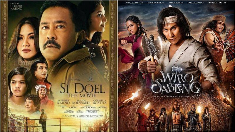 Si Doel the Movie dan Wiro Sableng.