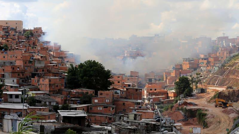 Kebakaran di Brazil