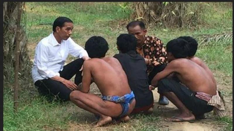 Jokowi dan Suku Anak Dalam Jambi