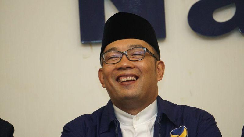 Ridwan Kamil di DPP Partai Nasdem