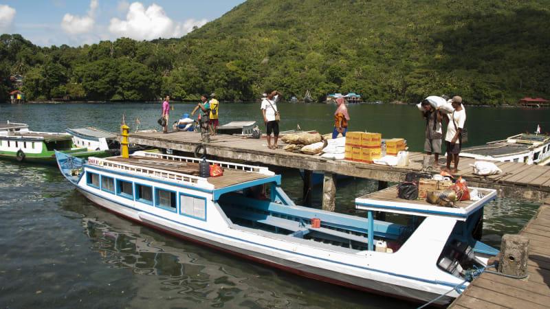 Transportasi di Banda Neira, Maluku