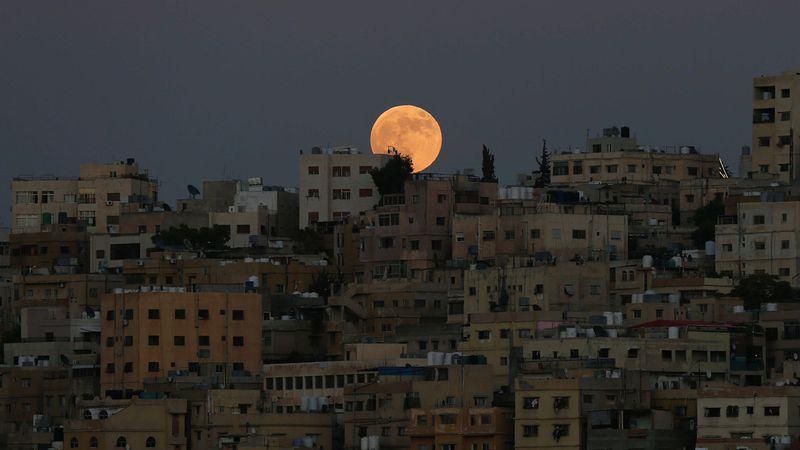 Gerhana Bulan di Yordania