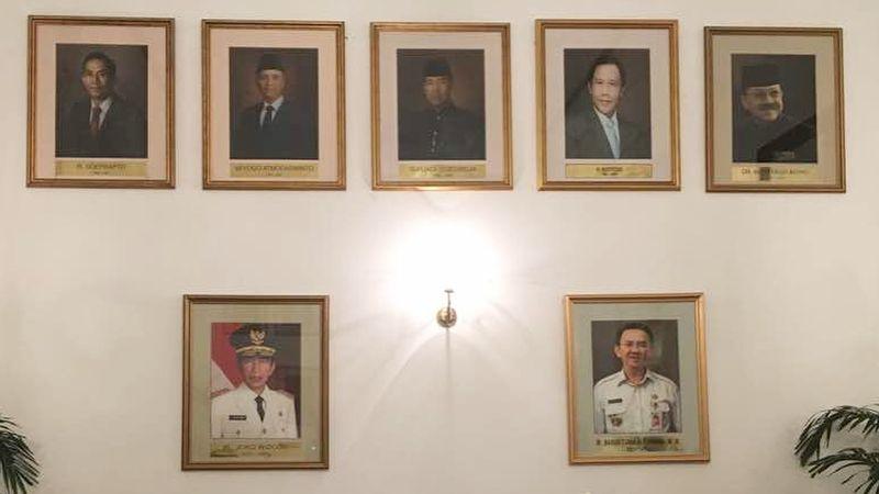 Lukisan Ahok dipajang di Balaikota DKI