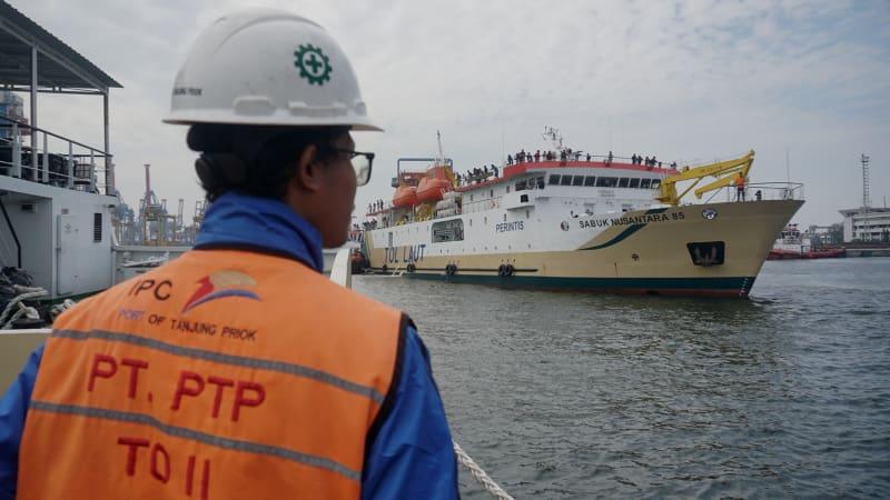Arus balik di Pelabuhan Tanjung Priok