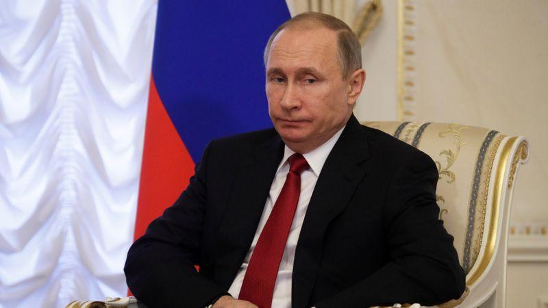 Vladimir Putin di Lokasi Ledakan