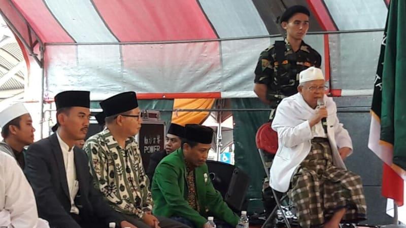 Kiai Ma'ruf Amin Ceramah di Taiwan
