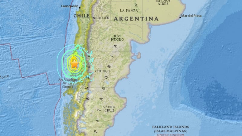 Update Gempa Chile