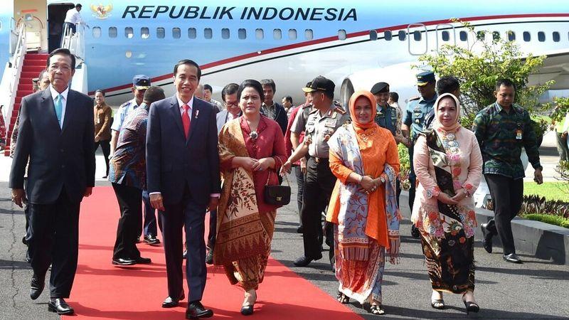 Jokowi Memulai Lawatan keenam Provinsi di RI