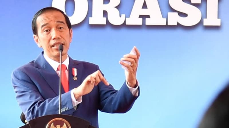 Presiden Joko Widodo di Dies Natalis ke-60 Undip