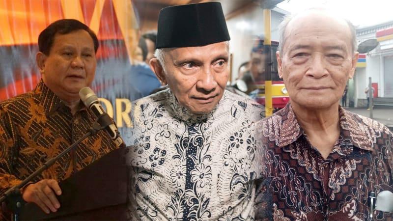 Prabowo, Amien Rais, Buya Syafi'i