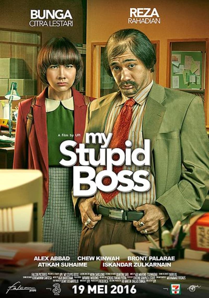 Poster FIlm My Stupid Boss