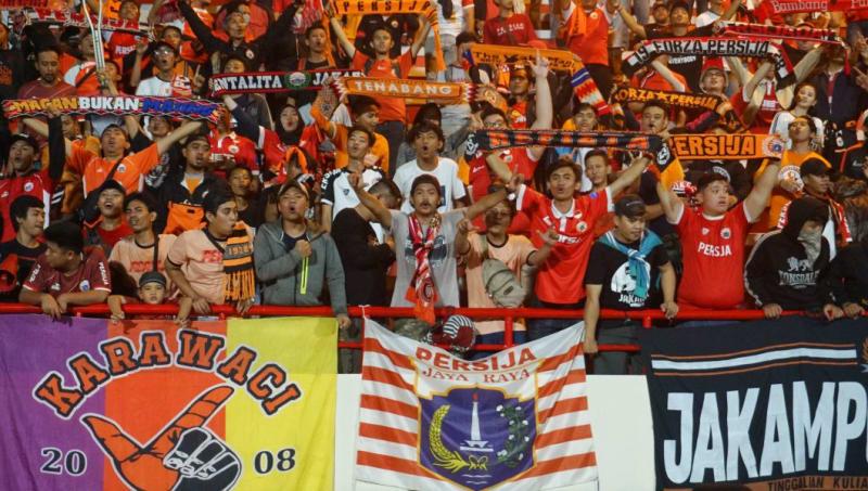 FOTO LIPSUS, SUPORTER, Suporter Persija Jakarta