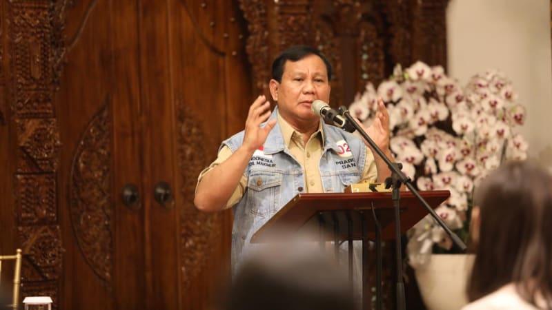 Capres Prabowo Subianto Gelar Diskusi Bersama Influencer Milenial