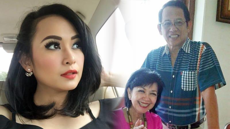 Citra Kharisma dan orang tuanya
