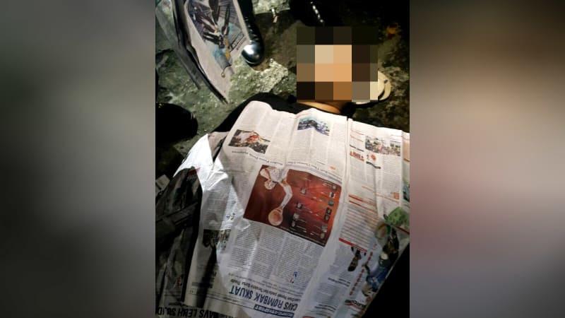 Pria tewas di Cipinang Muara Raya.
