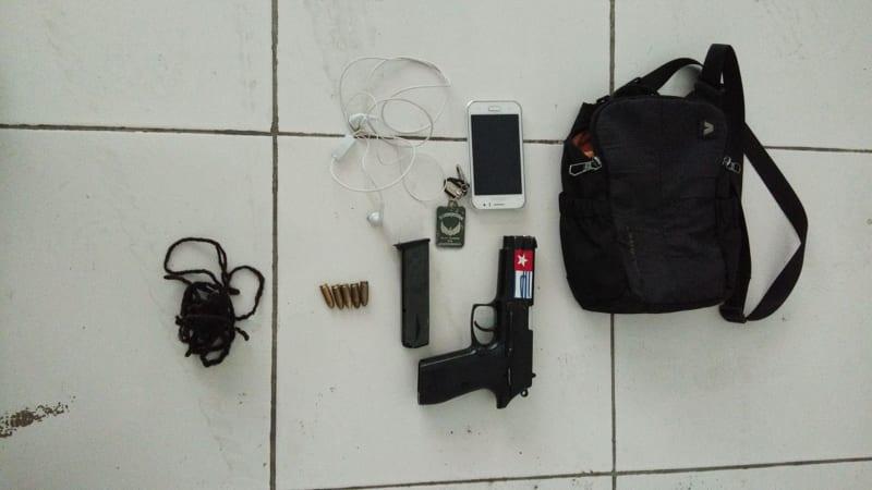Barang bukti pelaku penembakan aparat di Papua.