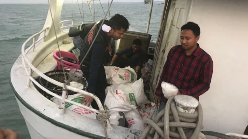 Penangkapan kapal berisi 1 ton sabu-sabu