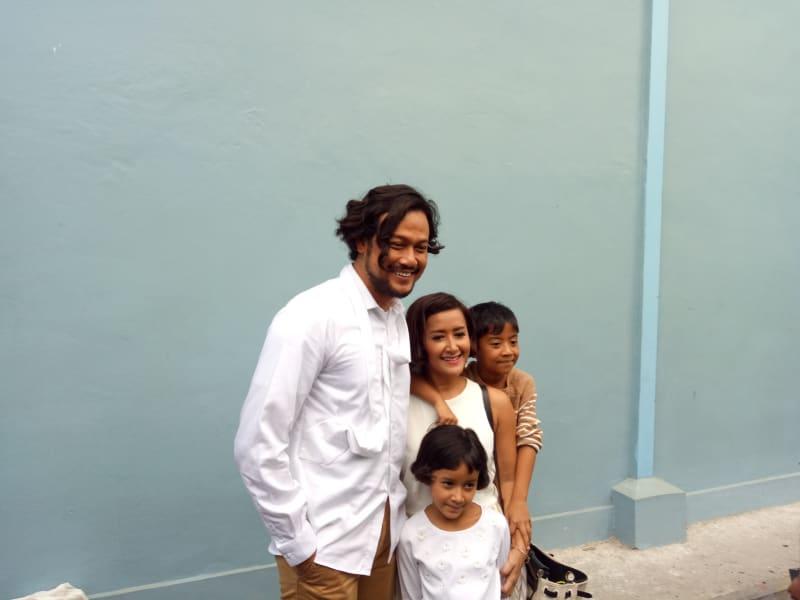Keluarga Dwi Sasono dan Widi B3