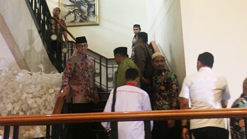 Gubernur DKI, Anies Baswedan hadiri Ijtima Ulama GNPF.
