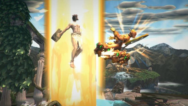 Cuplikan game Fight of Gods