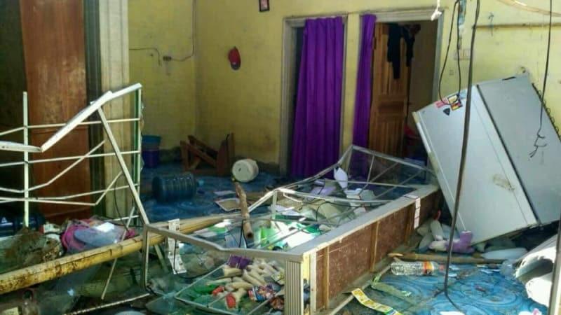 Hasil gambar untuk penyerangan ahmadiyah lombok