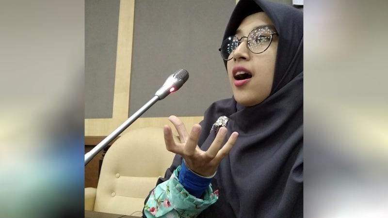 Arnita Rodelina Turnip, mahasiswi IPB yang beasiswanya dicabut Pemkab Simalungun