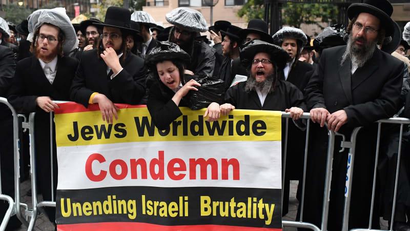 Warga Yahudi Memprotes Netanyahu
