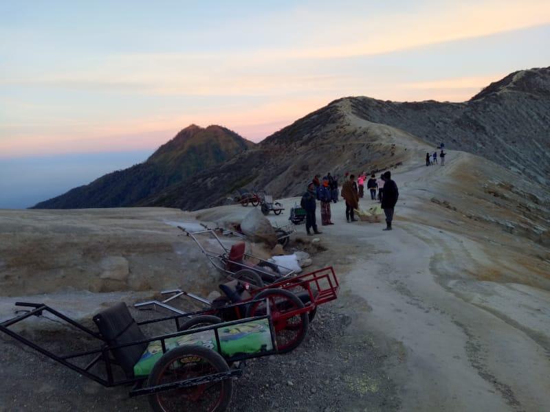 Jalur Pendakian Gunung Ijen Banyuwangi